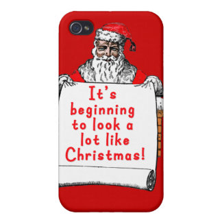 It s Beginning to Look a lot like Christmas Covers For iPhone 4