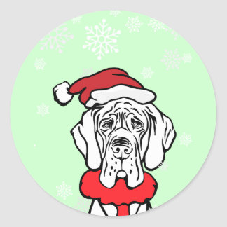 It s Christmas Time Round Sticker