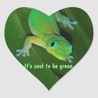 It s cool to be green stickers