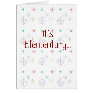 It s Elementary - I Luv U Card