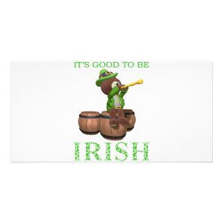 IT S GOOD TO BE IRISH PHOTO CARD