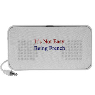 It s Not Easy Being French Mini Speakers