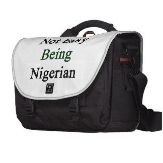 It s Not Easy Being Nigerian Laptop Messenger Bag