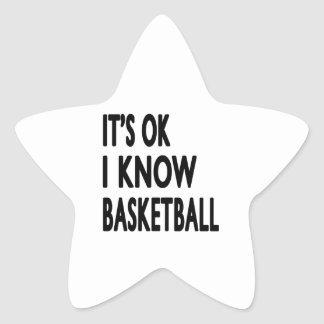 It s OK I Know Basketball Dance Sticker