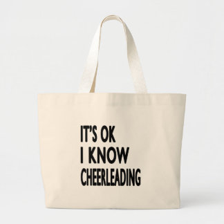 It s OK I Know Cheerleading Dance Bags