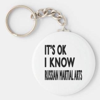 It s Ok I know Russian Martial Arts Keychain