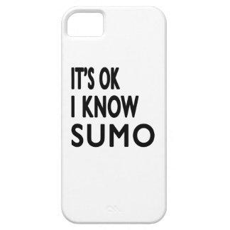 It s Ok I know Sumo iPhone 5 Case