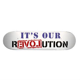 It s Our rEVOLution Skateboard Decks