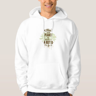 It's Simpler To Save Paper Than To Plant Trees Hoodies