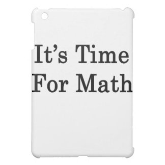 It s Time For Math Case For The iPad Mini