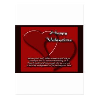 It s Valentine s day 1 Postcard
