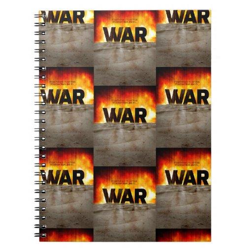 It's War Note Book