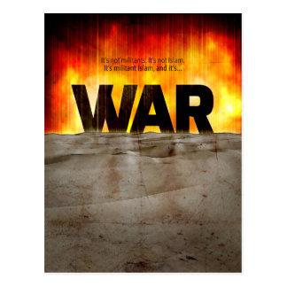 It's War Postcard