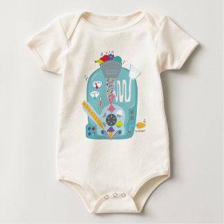 it schemes of ice cream baby bodysuit