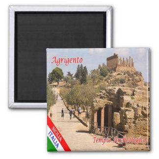 IT - Sicily - Agrigento - Temple Archaeological Magnet