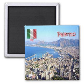 IT - Sicily - Palermo - Panorama Magnet