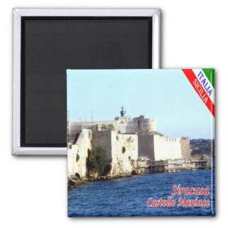 IT - Sicily - Siracusa - Castle Maniace Magnet