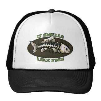 It Smells Like Fish Trucker Hat