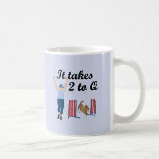 It Takes 2 To Q Coffee Mug