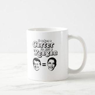 It takes a Carter to get a Reagan T-shirt Coffee Mug