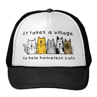 It Takes a Village to Help Homeless Cats Cap