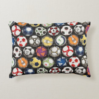 It Takes Balls to Play Soccer Decorative Cushion