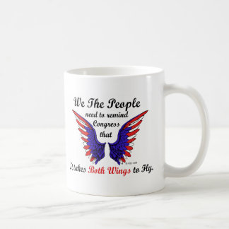 It Takes Both Wings to Fly Coffee Mug