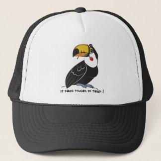 It takes toucan to tango trucker hat