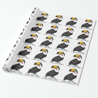 It takes toucan to tango wrapping paper