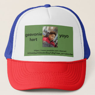 it tells you about my YouTube channel Trucker Hat