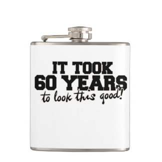 It took 60 years to look this good hip flask