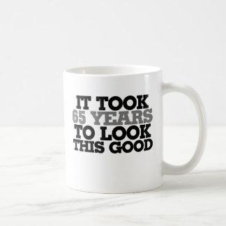 It took 65 years to look this good basic white mug