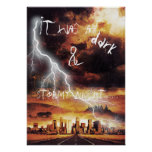 It Was a Dark and Stormy Night Poster
