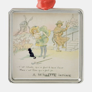 'It was Abadie who made the Sacre-Coeur, but God m Christmas Ornament