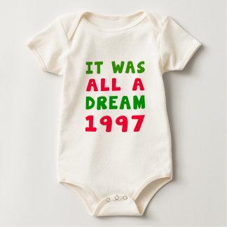 It was all a dream 1997 bodysuits
