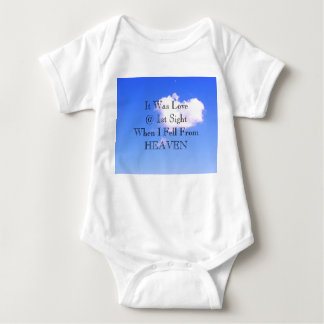 It Was Love @ 1st Sight Baby Bodysuit