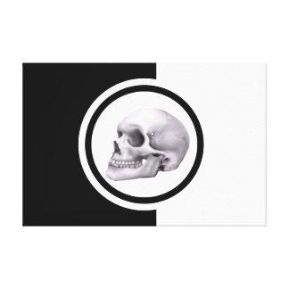 It was murder: Shot from the dark Canvas Prints