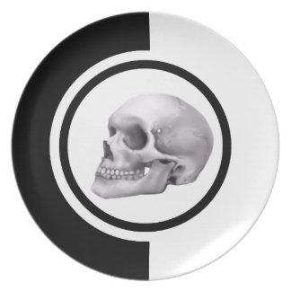 It was murder: Shot from the dark Dinner Plate
