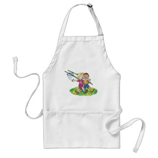 It Was This Big Standard Apron