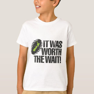 It Was Worth The Wait NZ T-Shirt