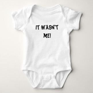 It wasn't me! baby bodysuit