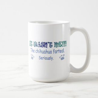 """It Wasn't Me - """"Dog Breed"""" Farted - more breeds Coffee Mug"""
