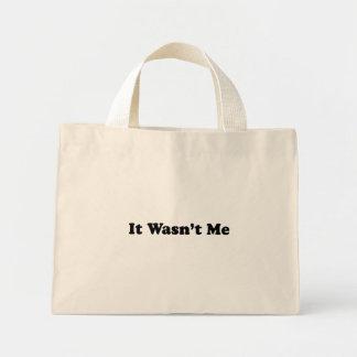 It Wasn't Me Mini Tote Bag