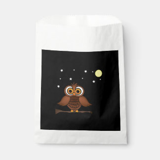 It Will Be A Hoot! Halloween Favor Bags