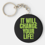 it Will Change Your Life - It Works! Global Basic Round Button Key Ring