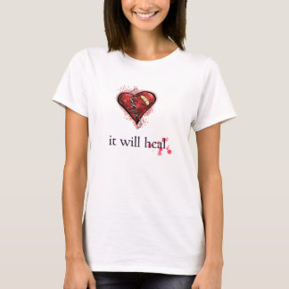 """It Will Heal"" Broken Heart Shirt"
