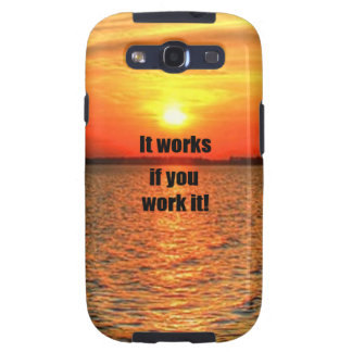 It Works If You Work It Samsung Galaxy S3 Case