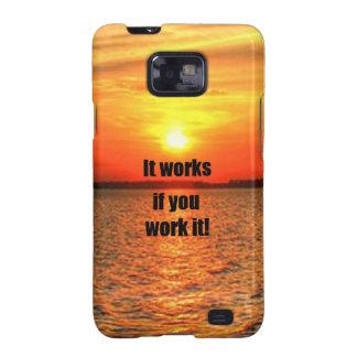 It Works If You Work It Samsung Galaxy SII Case