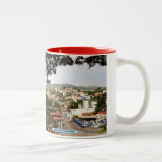 Itabira, Minas Gerais, Brazil Two-Tone Mug