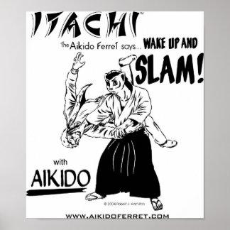 Itachi SLAM Poster